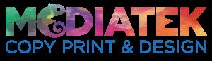 Mediatek print copy design logo