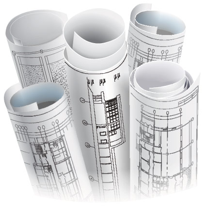Printing for architects archiving architects drawings for Printing architectural drawings